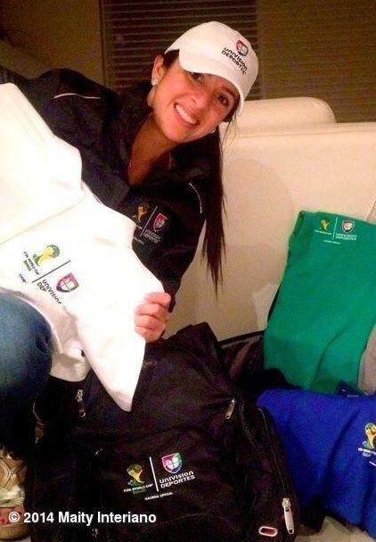 """A 21 dias que empiece @FIFAcom #FifaWorldCup, mi maleta se empieza a ll..."
