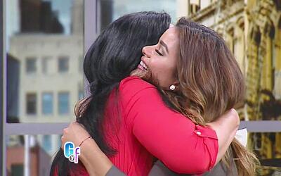 Clarissa Molina recibió el mejor regalo y la sorpresa más grande en su c...