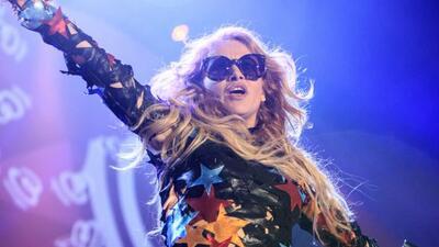La cantante habló honestamente con la prensa y hasta bromeó.