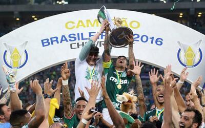 Palmeiras Campeón de Brasil