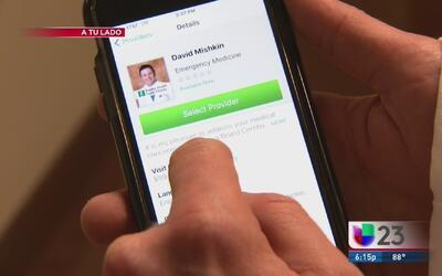 Aplicación permite realizar consultas médicas desde el celular