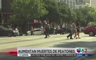 Aumentan muertes de peatones en Austin