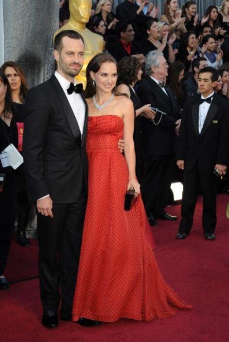 Natalie Portman se casó en secreto conBenjamin Millepied.