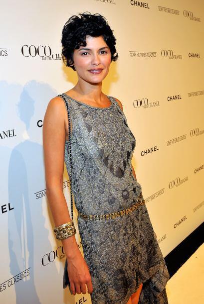 Otra francesa muy guapa es Audrey Tautou.