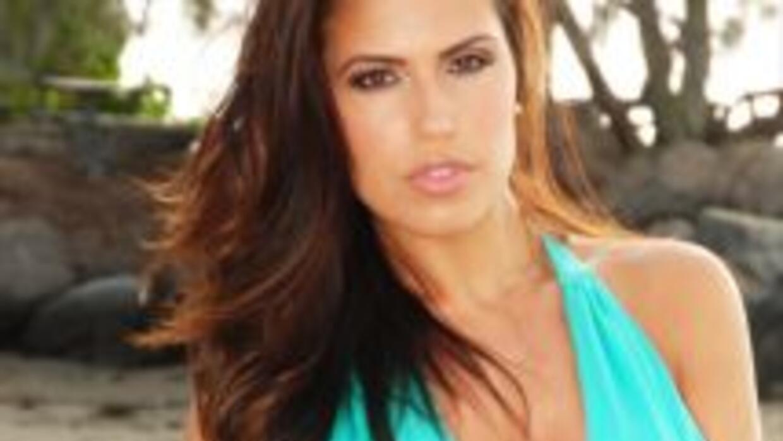 Kathy Pérez, Miss Italia.
