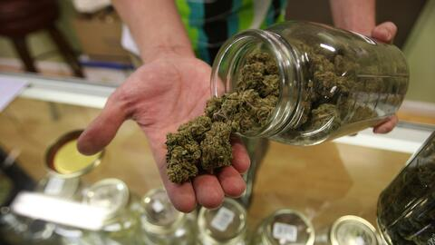 Five states will vote on Nov. 8 on whether to legalize marijuana.