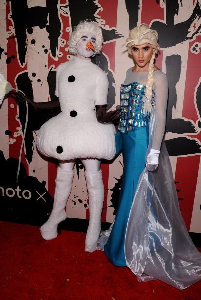 Frozen no podía faltar en la fiesta, en esta ocasión fuero...