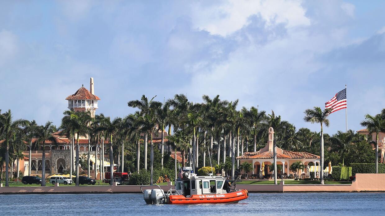 Mar-A-Lago está en primera línea de mar y eso hace al resort vulnerable...