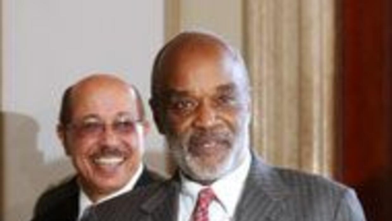 El presidente de Haití René Préval anunció comicios generales para el 28...