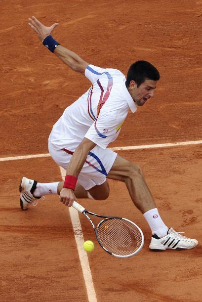 Roger Federer cortó de raíz la impresionante racha de Djokovic, que acum...