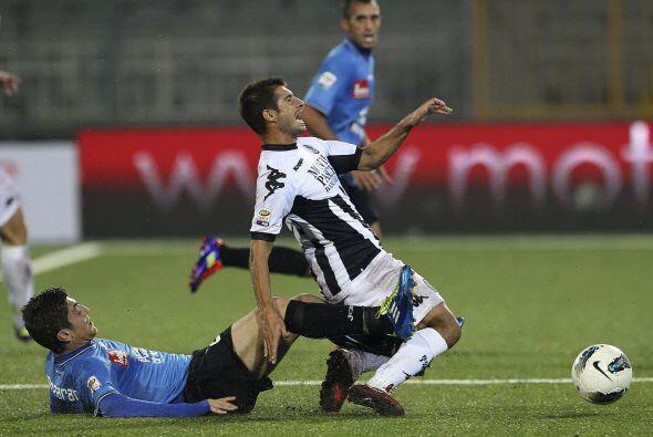 Gran partido el que enfrentaba al Udinese con el Nápoli.
