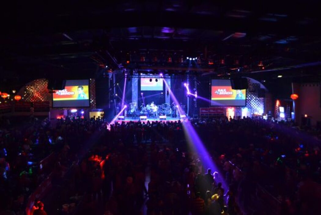La celebración se llevo a cabo en el Aragon Music Hall el pasado jueves.