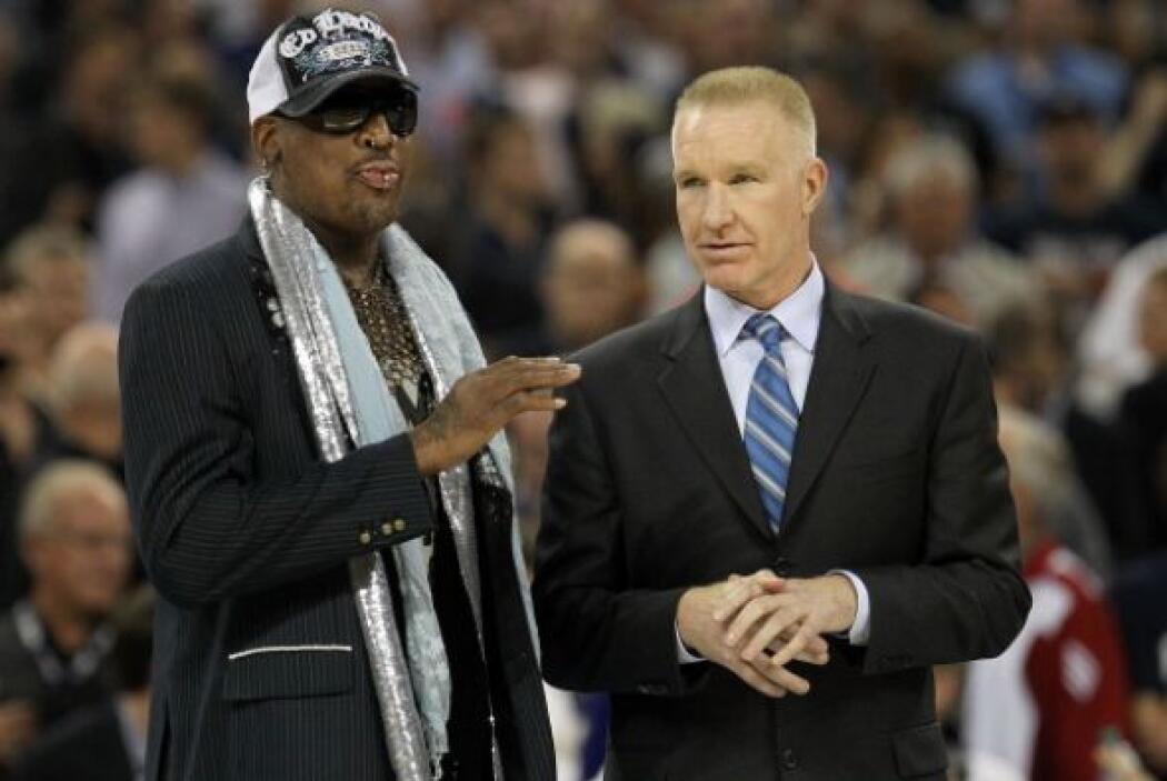 Dennis Rodman y Chris Mullin son considerados unas leyendas del balonces...