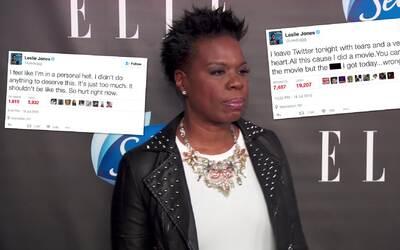 Leslie Jones expone un ataque de críticas racistas en Twitter