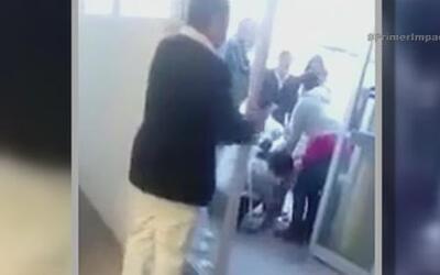 Una mujer da a luz en la puerta de un hospital de México