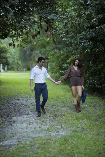 Sin duda son una pareja que comparte sueños, ilusiones, alegr&iac...