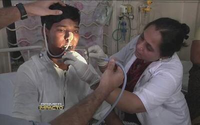 Más de doscientos dientes le sacaron a un adolescente en la India