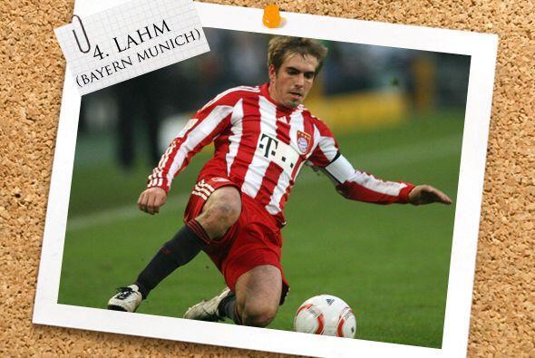 El alemán Philipp Lahm dio un gran juego en favor del Bayern Munich, con...