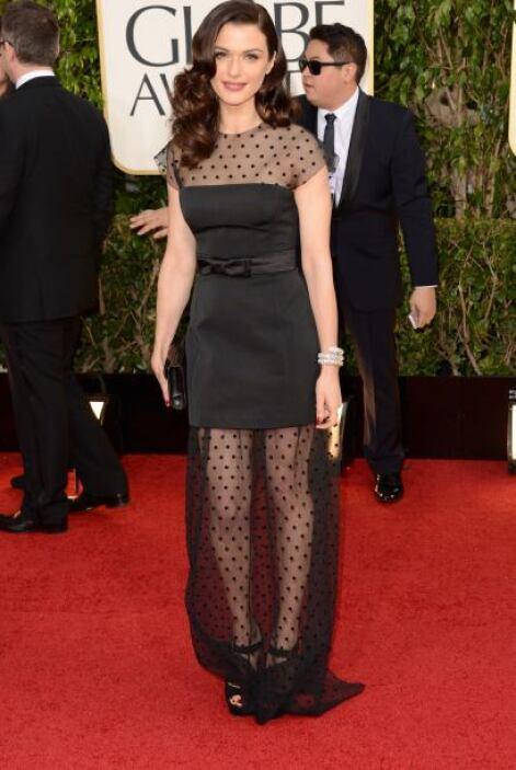 La belleza de Rachel Weisz se vio opacada por ese vestido, que ni era co...