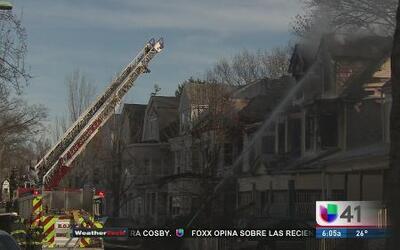 Incendio cobró la vida de 5 personas