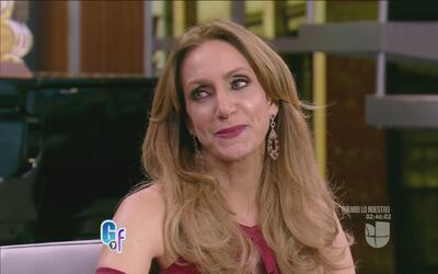 Lili Estefan no pudo evitar las lágrimas al recordar sus treinta años de...