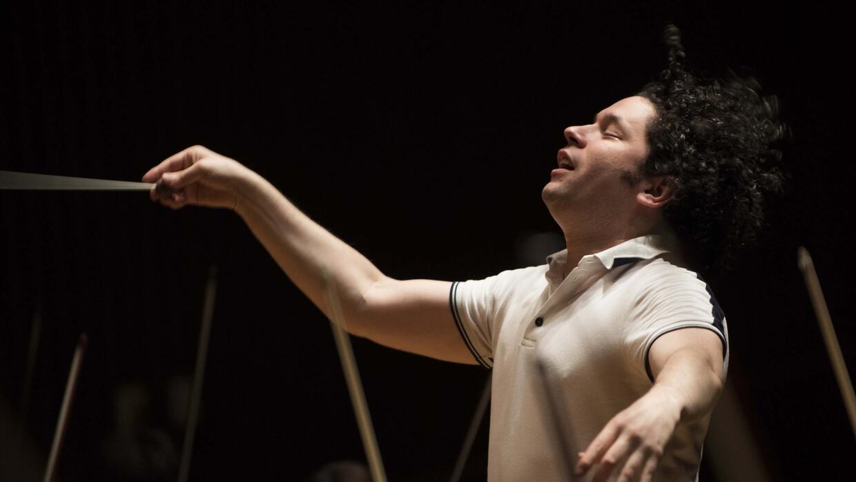 Gustavo Dudamel, director de la Filarmónica de Los Ángeles