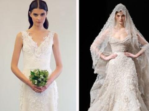 El vestido es algo que la novia elige con mucho cuidado y cariño...