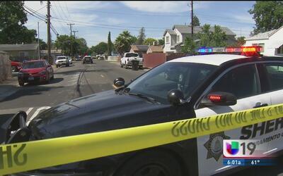 Tiroteo al sur de Sacramento deja a cinco personas heridas