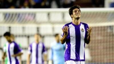 Mark Valiente anotó el gol del Valladolid.