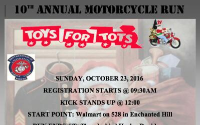 Toys for Tots 2016 Info