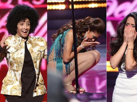 En esta segunda gala, las chicas no ocultaron sus emociones cuando escuc...