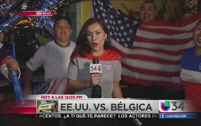 Fanáticos de USA listos para apoyar al equipo de todos