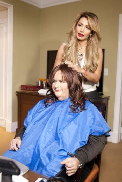 ¿Qué tal luce Rauli con una larga cabellera morena?