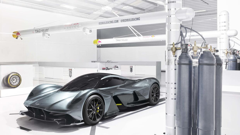 Aston Martin divulga el AM-RB 001, un hiperauto con doble personalidad