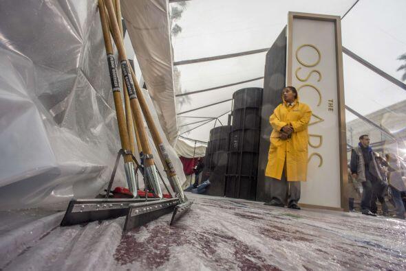 Los Oscars están a la vuelta de la esquina y entre la lluvia y la...