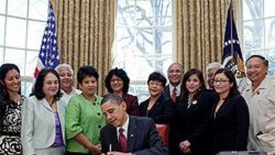 Obama proclama el 31 de marzo como Día Nacional del líder sindical latin...