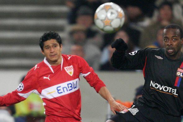 Ricardo Osorio es el otro jugador que tuvo participación con el Stuttgar...