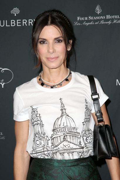 Sandra Bullock es mamá de Louis, un pequeño que adopt&oacu...