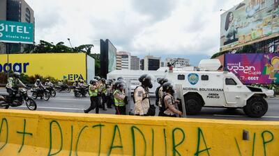 La represión de Nicolás Maduro golpea más fuerte que la de Hugo Chávez G...