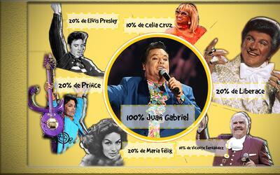 Múltiples eran los estilos que pervivían en las apuestas de Juan Gabriel.