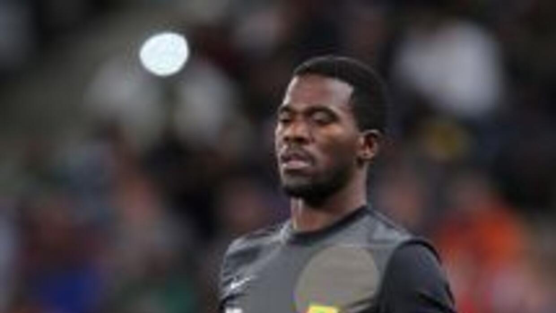 El portero que había jugado el partido ante el Ajax de Ciudad del Cabo,...