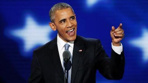 """Obama: """"No hay nadie más calificada para ser presidente que Hillary Clin..."""