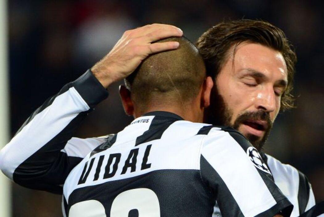 Pirlo no hizo gol, pero no fue necesario para que su Juventus ganara por...