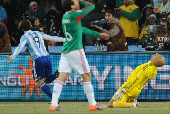 Ya en Octavos de Final, México volvió a enfrentar a Argent...