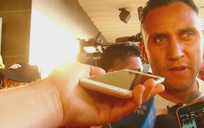 """Keylor Navas a su llegada a Costa Rica: """"Nuestro objetivo es quedarnos c..."""