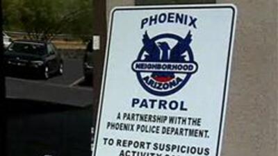 """Programa """"Phoenix Neighborhood Patrol""""."""