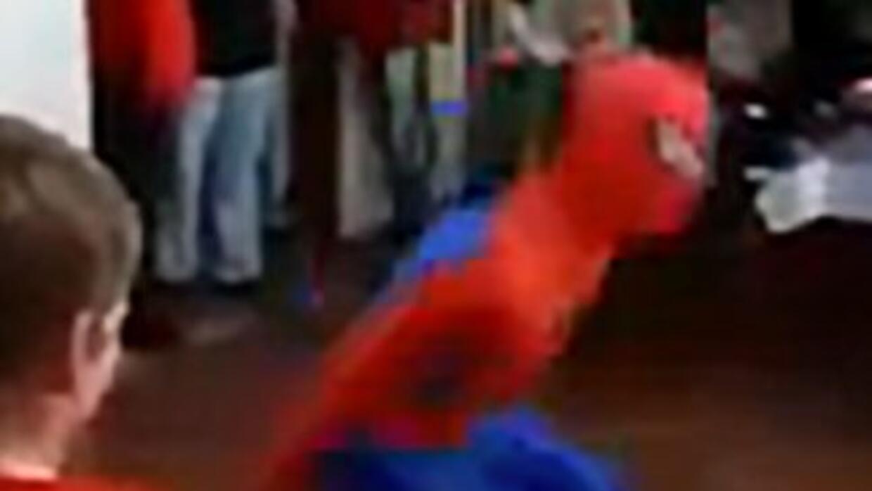 Spider-Man Fall Fail