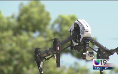 Uso de drones en la policía de Modesto