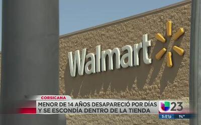 Vivió en un Walmart y nadie se dió cuenta
