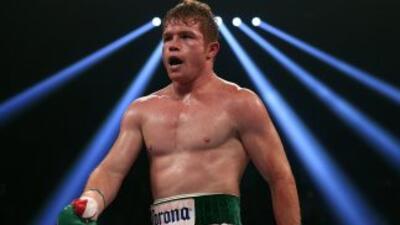 """""""Canelo"""" se prepara en su gimnasio en Guadalajara para su sexta pelea po..."""